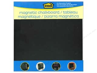 "Metal: MD Metal Sheets 12""x 12"" Magnetic Chalkboard"