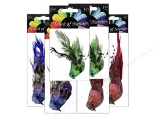 "Sequins $4 - $8: Midwest Design Birds 4.5"" Feather Fancy Assorted 1pc"