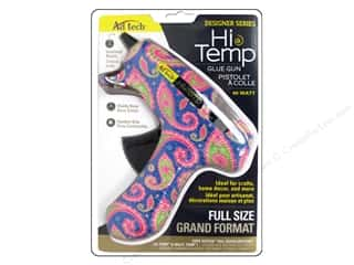 Craft Guns Craft & Hobbies: Adhesive Technology High Temp Glue Gun Blue Paisley