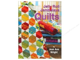 Annies Attic Fat Quarter / Jelly Roll / Charm / Cake Books: Landauer Jelly Roll Jambalaya Quilts Book