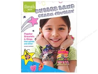 Hot off the Press Beading & Jewelry Books: Taunton Press Threads Select Rubber Band Charm Jewelry Book