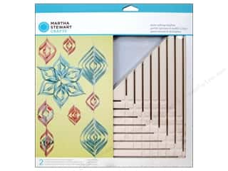 Bazzill templates: Martha Stewart Tools Template Ornament Spiral Lrg