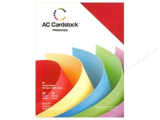 American Crafts 8 1/2 x 11 in. Cardstock Pack Primaries