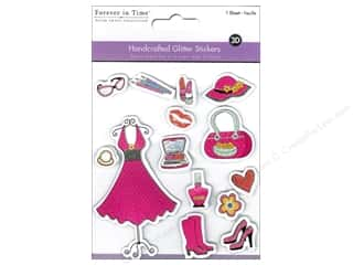 The Handmade Dress: Multicraft Sticker Handmade Glitter Diva