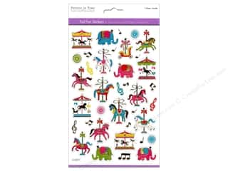 Multicraft Sticker Foil Carousel