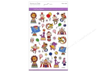 Multicraft Sticker Foil Big Top Circus