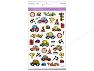 Transportation Stickers: Multicraft Sticker Foil Race Track