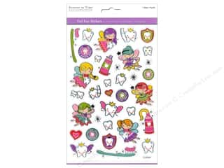 Scrapbooking Angels/Cherubs/Fairies: Multicraft Sticker Foil Tooth Fairy