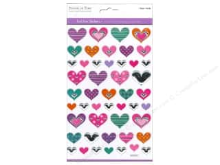 Multicraft Sticker Foil Glam Hearts