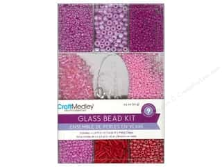 Beads Multicraft Beads: Multicraft Beads Glass Kit Rouge