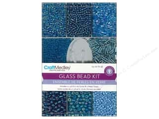 Beads Projects & Kits: Multicraft Beads Glass Kit Ocean