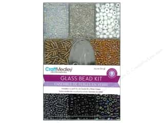 Beads Projects & Kits: Multicraft Beads Glass Kit Soiree