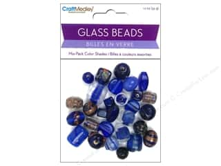 Multicraft Beads Glass Color Shade Dark Blue 1.2oz