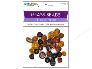 Multicraft Beads Glass Color Shade Brown 1.2oz