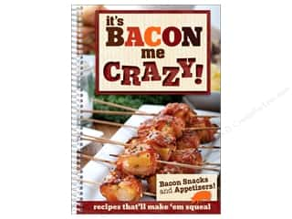 Books Black: CQ Products It's Bacon Me Crazy Book