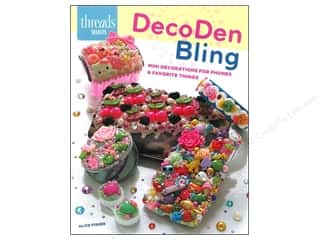 Taunton Press Beading & Jewelry Making Supplies: Taunton Books Threads Select DecoDen Bling Book