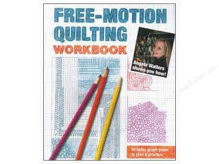 C&T Publishing: Stash By C&T Free-Motion Quilting Workbook Book