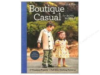 Stash Books An Imprint of C & T Publishing Family: Stash By C&T Boutique Casual for Boys & Girls Book