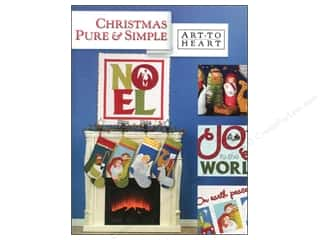 Hearts Books & Patterns: Art to Heart Christmas Pure & Simple Book by Nancy Halvorsen
