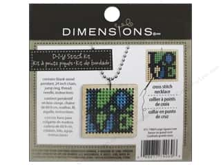 Stitchery, Embroidery, Cross Stitch & Needlepoint Crafting Kits: Dimensions Cross Stitch Kit Square Love Natural