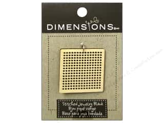 Yesterday's Charm $8 - $15: Dimensions Wood Blanks Square Large 1pc