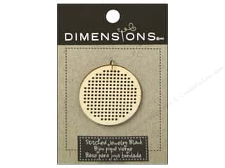 Yesterday's Charm $8 - $15: Dimensions Wood Blanks Circle Large 1pc