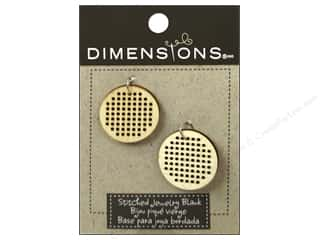 Embroidery Sale: Dimensions Wood Blanks Circle Small 2pc