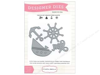Carta Bella Die Ahoy There Designer Sea ShipAnchor