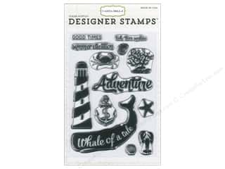 Carta Bella Stamps Ahoy There Designer Whale/Tail
