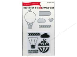 Transportation Hot: Echo Park Designer Die & Stamp Set We Are Family Collection Hot Air Balloon