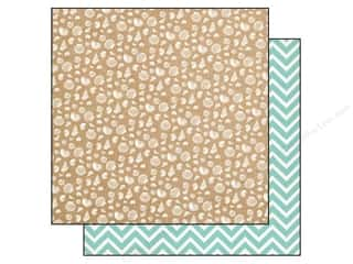 Carta Bella 12 x 12 in. Paper Ahoy There Seashells (25 piece)