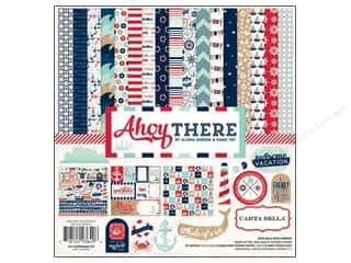 Carta Bella Theme Stickers / Collection Stickers: Carta Bella Collection Kit 12 x 12 in. Ahoy There