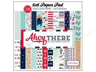 Carta Bella Paper Pad Ahoy There 6x6