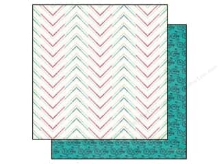 Echo Park 12 x 12 in. Paper We Are Family Dotted Chevron (25 piece)