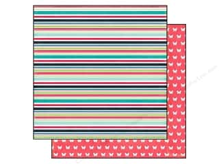 Echo Park 12 x 12 in. Paper We Are Family Family Stripe (25 piece)