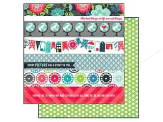 Echo Park Paper 12x12 We Are Family Border Strips (25 piece)