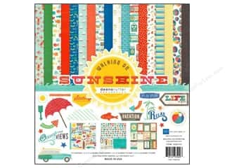 Echo Park Paper Company Stickers: Echo Park 12 x 12 in. Walking On Sunshine Collection Kit