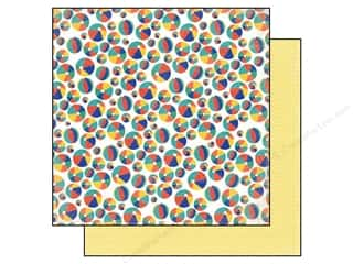Echo Park Paper 12x12 Sunshine Beach Balls (25 piece)