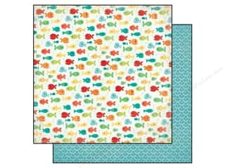 Echo Park 12 x 12 in. Paper Walking On Sunshine Fancy Fish (25 piece)