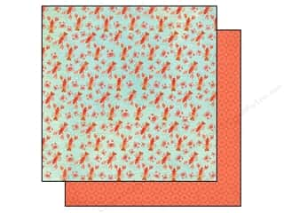 Echo Park 12 x 12 in. Paper Walk Sunshine Lobster Crab (25 piece)