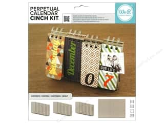 Binding Strips: We R Memory The Cinch Kit Perpetual Calendar