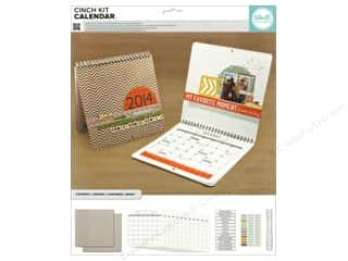 Chipboard Back To School: We R Memory The Cinch Kit Calendar