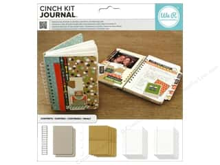 We R Memory Keepers Burgundy: We R Memory The Cinch Kit Journal