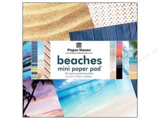 "Paper House All-American Crafts: Paper House Paper Pad 6"" Beach"
