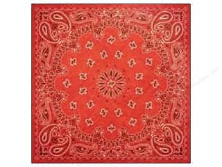"Paper House All-American Crafts: Paper House Paper 12""x 12"" 100% Country Red Bandana (25 pieces)"