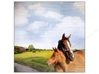 Paper House Paper 12x12 Horse Hold Your Horses (25 piece)