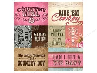 Paper House Paper 12x12 Country Girl Tag CntryGirl (25 piece)