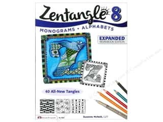 ABC & 123 New: Design Originals Zentangle 8 Expanded Edition Book