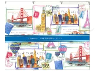 Vacations Hot: Lily McGee File Folders Where To? 9pc