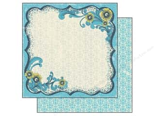 Flowers inches: Authentique 12 x 12 in. Paper Favorite Collection Memorable (25 pieces)